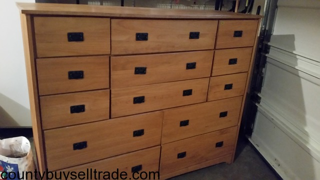 12 drawer amish style dresser bremerton county buy sell for Furniture kitsap county