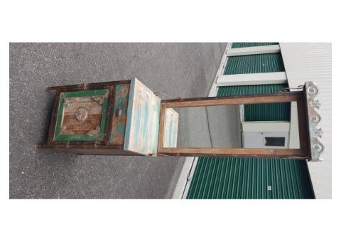 Reclaimed Metal Cabinet
