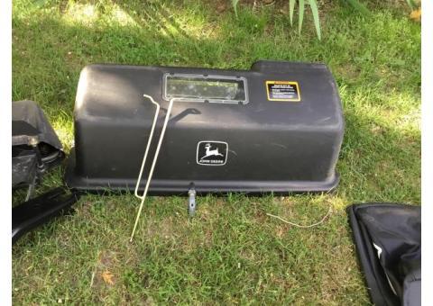 Lawn mower bagger