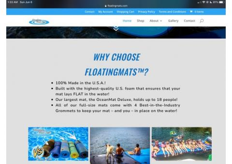 Floating Lake Mat